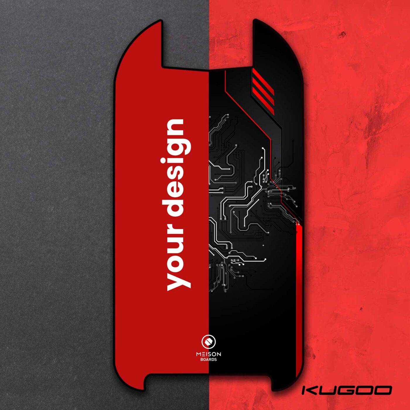 Meison Boards Kugoo G Booster